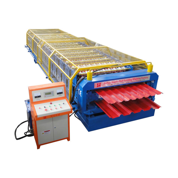 double layers roof wall panel roll forming machine cheap ibr profile metal roof/wall panel roll forming machine