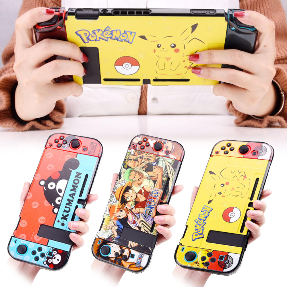 Frosted Cartoon custom Precise Protective cute cover case For Nintendo Switch