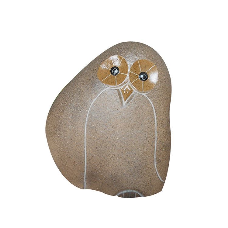 Garden Art Decoration Animal Statue Stone Owl For Sale