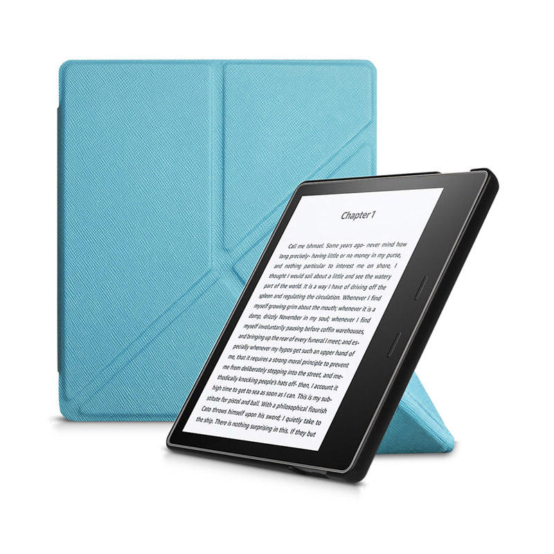 Fall abdeckung für Amazon Kindle Oasis 3 2019 Origami Stand