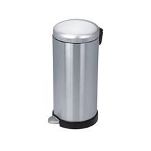 High Quality Bin Garbage for Home Hotel  Stainless Steel 410 Garbage Outdoor Bin Intelligent Silver Large Size Pedal Garbage Bin