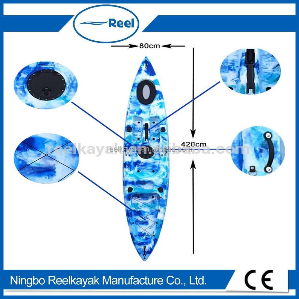 Super pesca caiaque/barco de pesca made in china-Extrema Pescador com certificação do CE