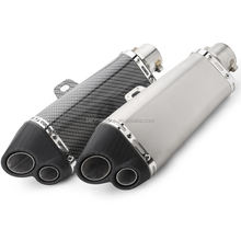 New design quality hexagon exhaust pipe for motorcycle