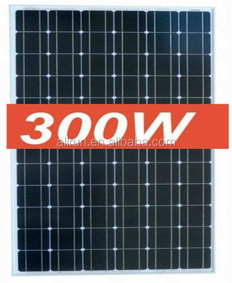 CEC listed 300w fotovoltaic solar panel germany connect to solar inverter 3-phase for solar electricity