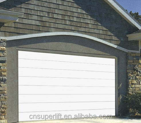 Bulk Supplied CE Qualified Automatic Sectional Garage Door Panel
