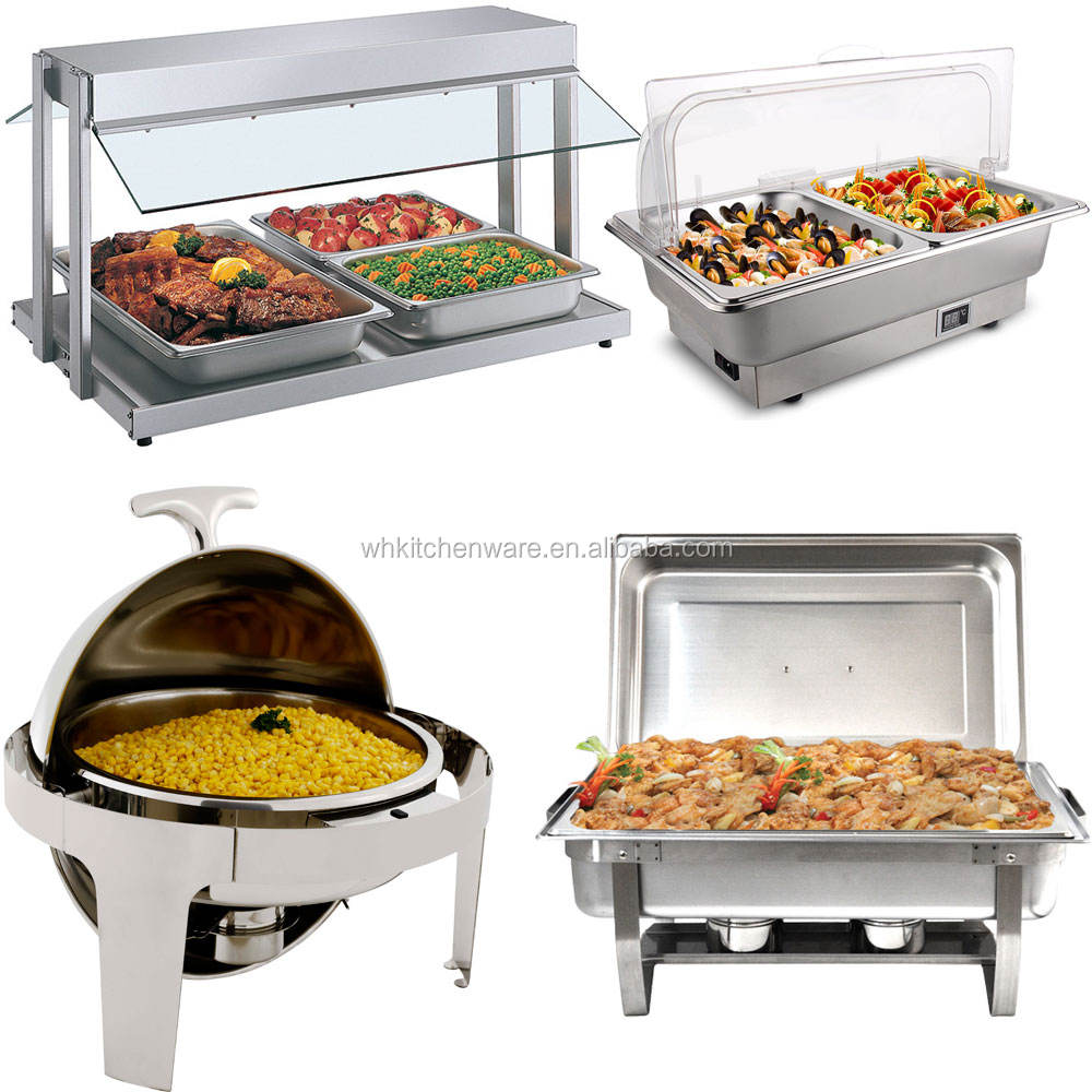 Deluxe Roll Top chafing dish buffet food warmers