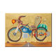 Classical wall canvas art motorcycle abstract art painting