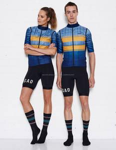 A prueba de viento y impermeable sublimación imprimir Chaleco de ciclismo transpirable Jersey fabricante