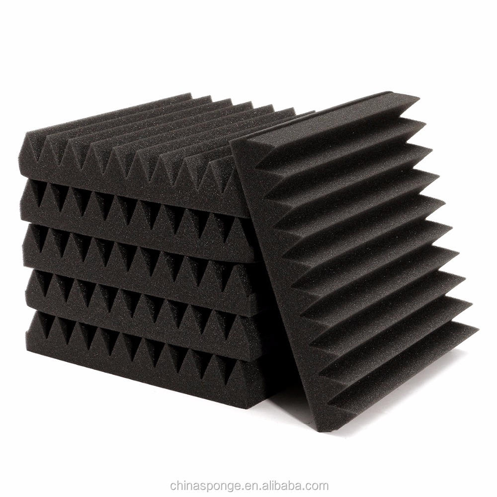 Acoustic Studio Absorption Treatment, Acoustic Wedge Foam For Theatre