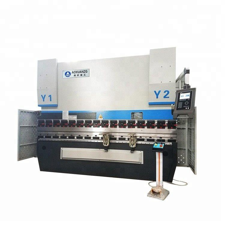 CNC control WC67Y 200T hydraulic plate press brake bending machine with low price from machine manufacturers