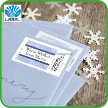 postage stamp sticker printing label stickers