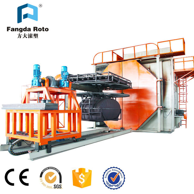 plastic water tank plastic box Ice box kayak playground slide plastic products making machine used rotomolding machine for sale