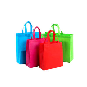 high quality custom Eco-friendly non woven fabric carry tote shopping bags