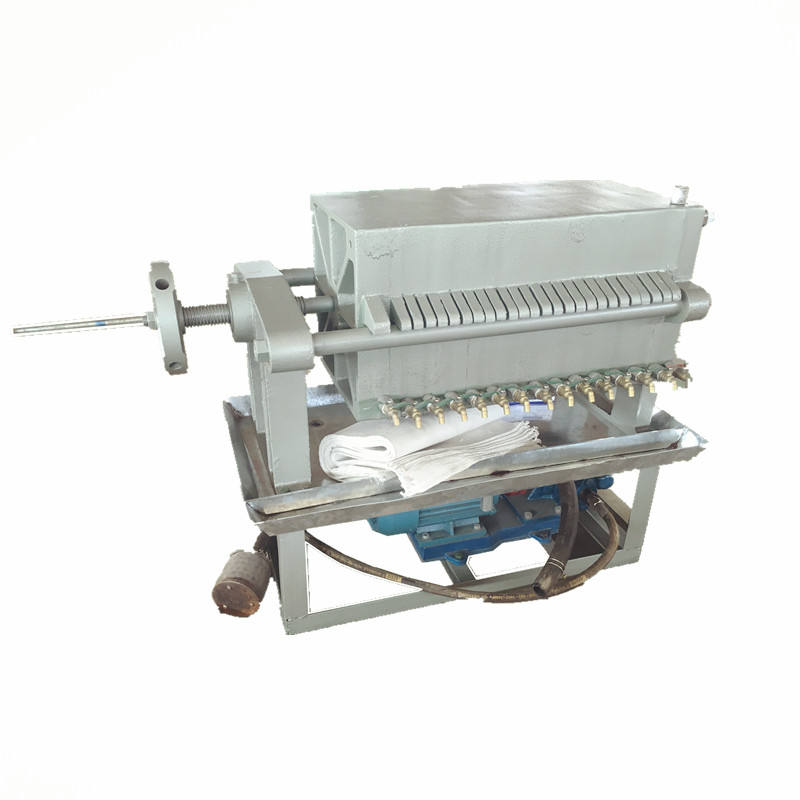 plate and frame oil press filter machine for plant cooking oil