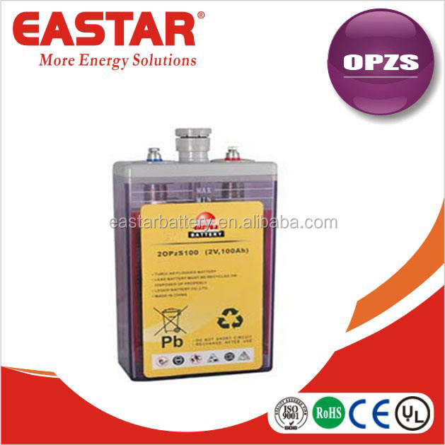 high quality solar and wind system OPzS battery 2v 3000ah