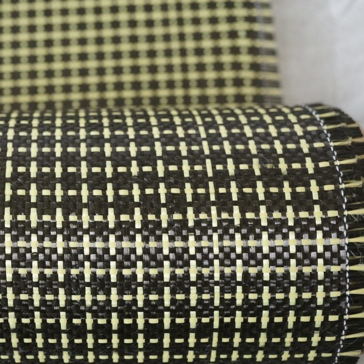 hot selling flame retardant carbon kevlar hybrid fabric for industry use and other use