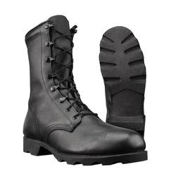 Hot selling Military Jungle Boots Panama Sole Boot Black leather military boots
