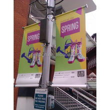 Outdoor advertising product hanging double sides banner
