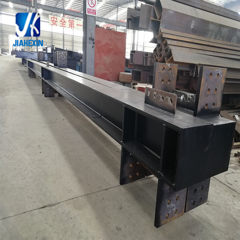 ASTM A572Gr50 A992 submerged arc welding steel structure building manufactured by structural steel fabricator for contractor