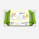 Wholesale Non-woven Disposable Cleaning Wet Baby Wipes with 80 Pcs