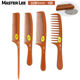 Masterlee Brand Handmade Anti-static Thicker Bakelite Comb Professional barber Hair Wood Comb