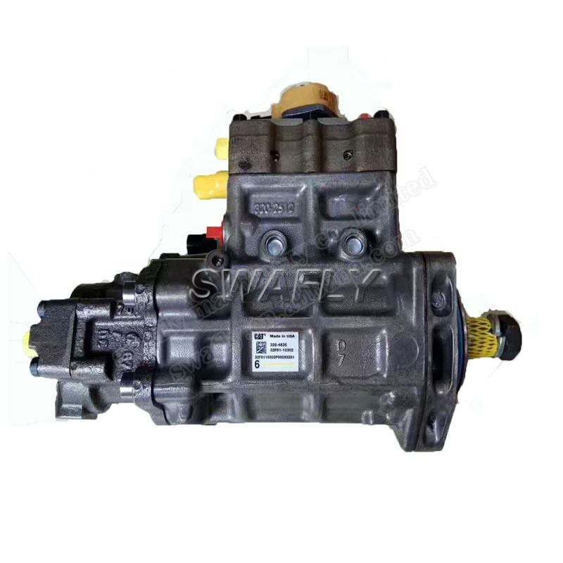 Original E320D 320D Excavator Diesel Engine C6.4 Fuel Pump 326-4635 Common Rail Injection Pump