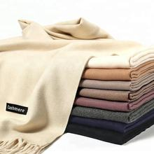 Hot Selling Plain Color Cashmere Scarf for Winter