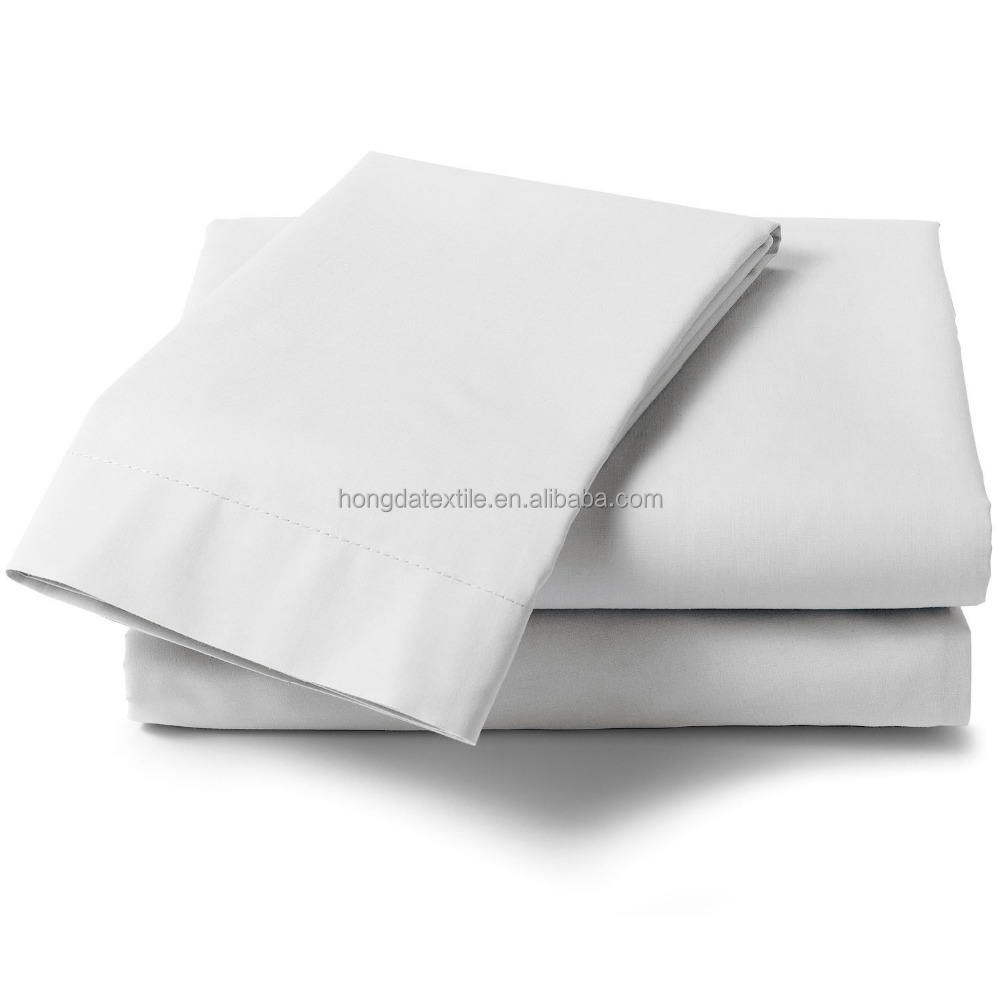 white color cheap price used disposable bed linen sheets for hospitals and hotels
