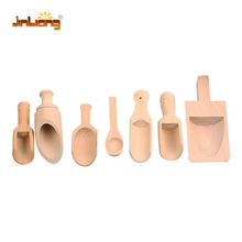 Hot sale wooden salt scoop