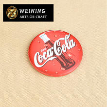 good grade metal badge metal tin bottle cap pepsi cola tin badge sign plate
