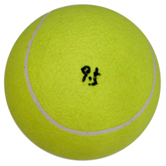 wholesale custom printed 9.5 inch large inflatable tennis ball