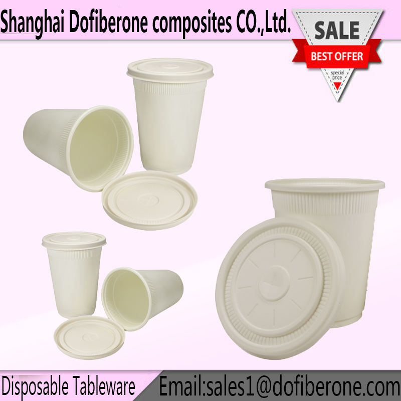 Customized Food grade Portable Travel Healthy Disposable Tableware, Biodegradable disposable PP corn starch plates