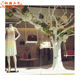 Factory sale large trees artificial white dry tree branches for wedding decoration