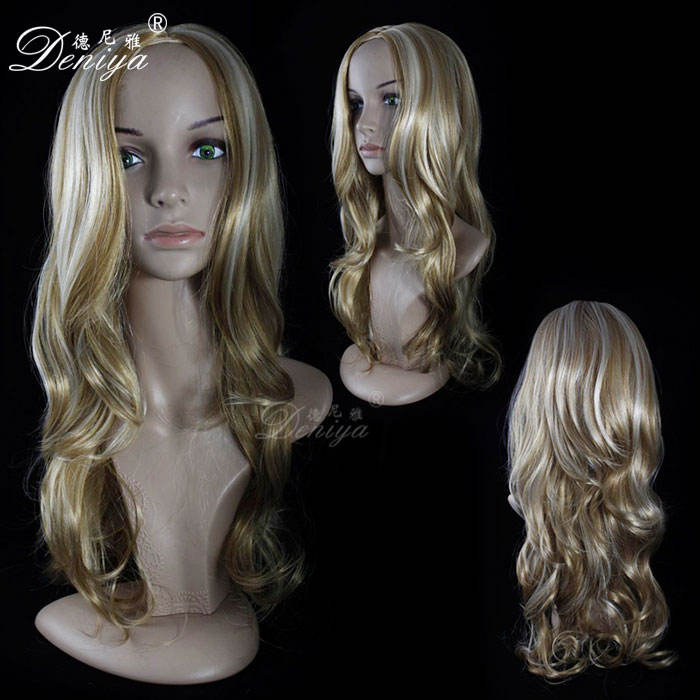 French Curl [ Synthetic Hair ] Fashion Curly Women Synthetic Curly Hair Wig