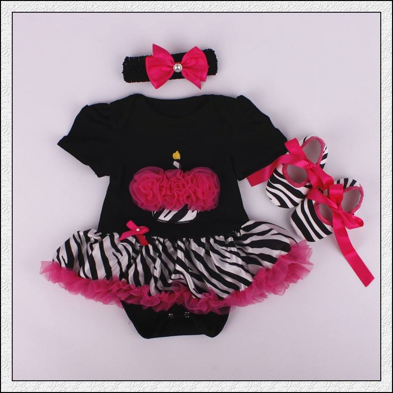 Online Cheap Frocks Korean Ruffle Short Dress Clothing Sets For Baby Girls