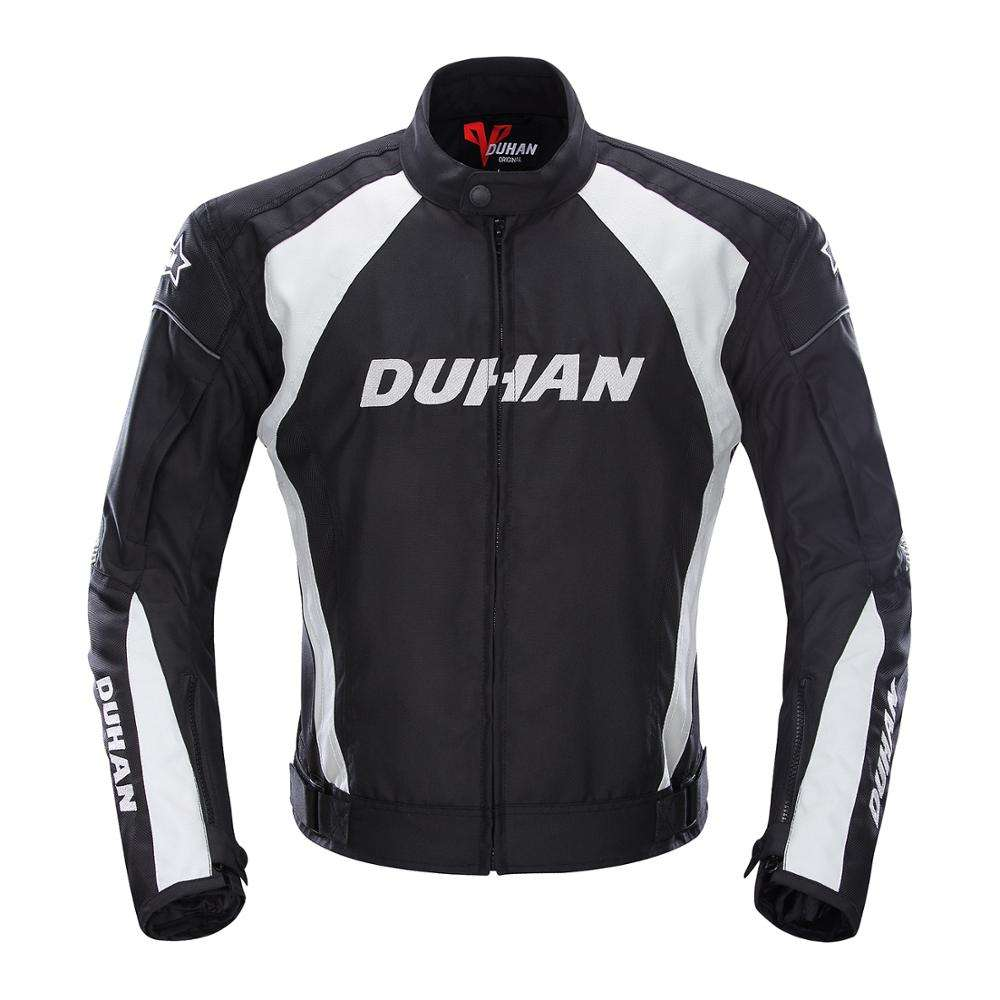 DUHAN Motorcycle Jacket Motorcycle Riding Jacket Design Custom Motorcycle Jackets With Detachable Cotton Liner