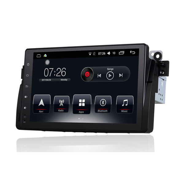 car audio video entertainment navigation system touch screen car dvd with gps for bmw 3 series e46