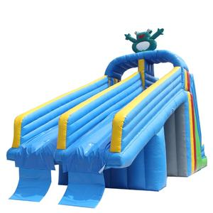 PVC0.6mm Komersial Digunakan Inflatable Slide Taman Air
