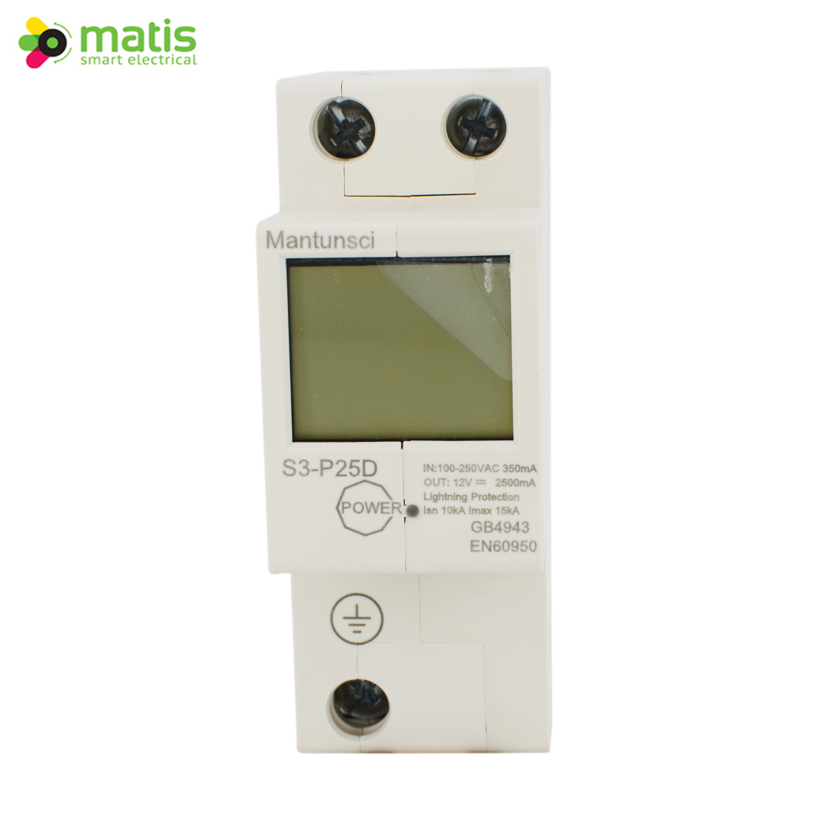 New Remote control circuit breaker with MTS3 LCD Power Supply