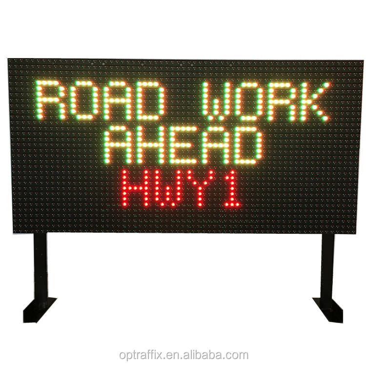 Highway Traffic Message Board VMS Segni Schermo Video Mobile All'aperto Display A LED Segnaletica