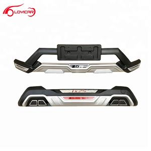 ABS Plastic Bumper Protection Guards for Hyundai IX25 Creta 2017+