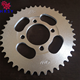 C45 steel Motorcycle sprocket CD70 420 41T for Honda