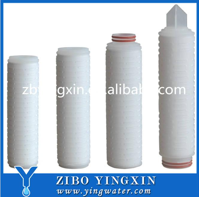 Высокое Качество Сложенном Фильтр-Картридж-Стекловолокно Сделано В Китае