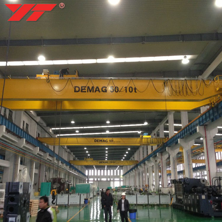 High Performance Heavy Duty overhead crane 70 ton mhe demag electric detail