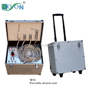 Cheapest equipment dental unit portable dental unit dental suction unit for dentist use