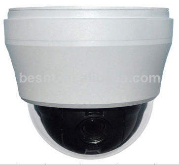 Zoom numérique ccd 10x intérieure hd numérique mini dôme ptz cctv caméra 700tvl bs-227