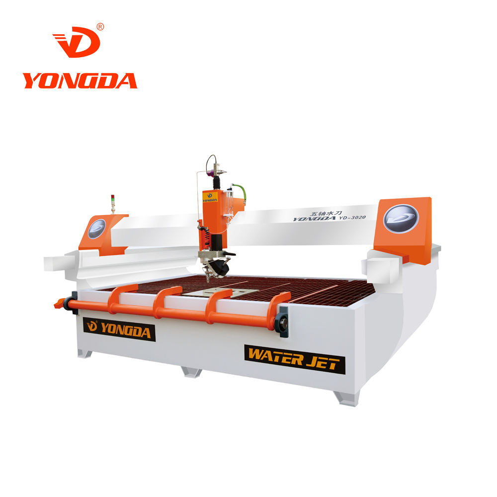 Yongda YD-3020 Water jet cutting machine high quality intensifer AC 5 Axis Bridge Cutting Machine/Bridge Saw machine for stone