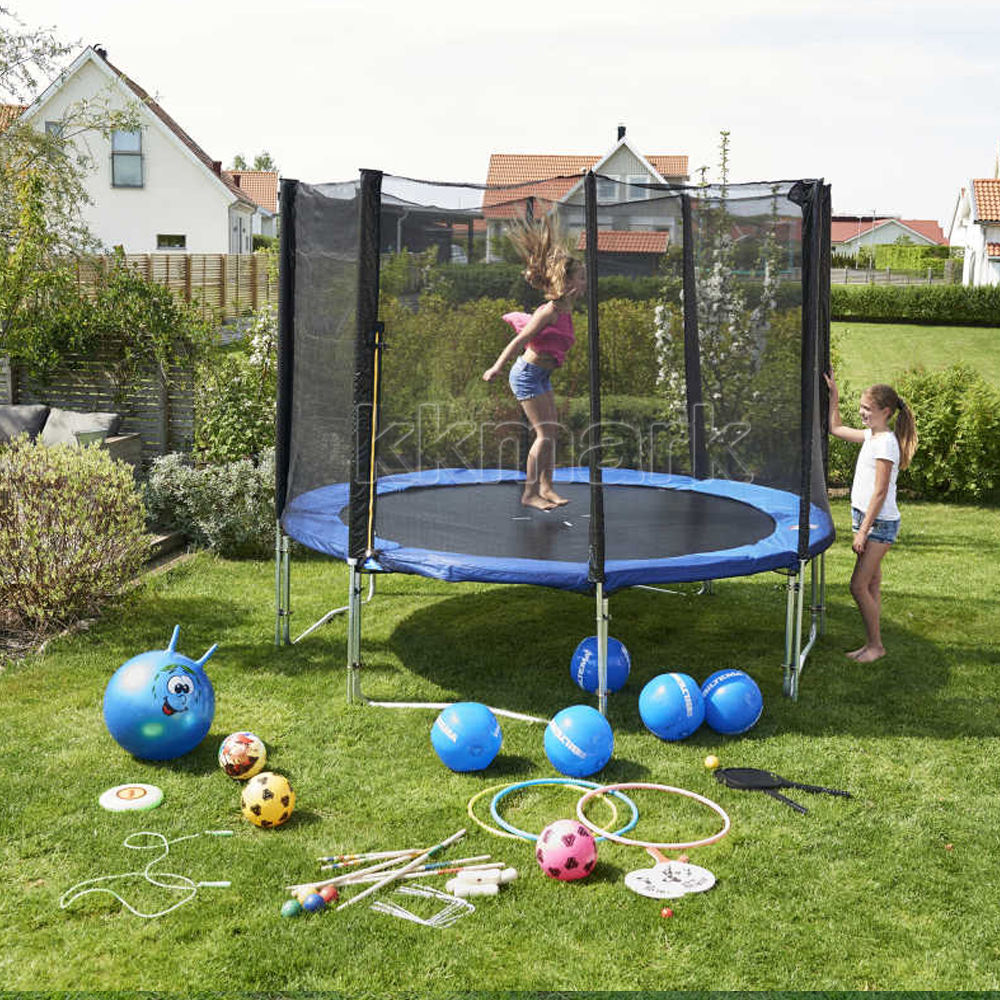 KKMARK Outdoor small mini round gym fitness jumping kids trampoline