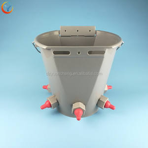 Lamb feeder bucket - 5 teats Sheep Nipple Drinker feeder