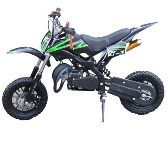 Mini moto צלב 2 שבץ 49cc pocket לילדים